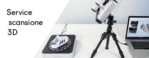 service scansione 3D